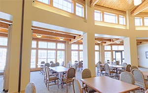 Eventide at Sheyenne Crossings Dining Room Virtual Tour